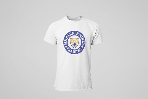 Whalen Blues White T-shirt (Blue  Logo)