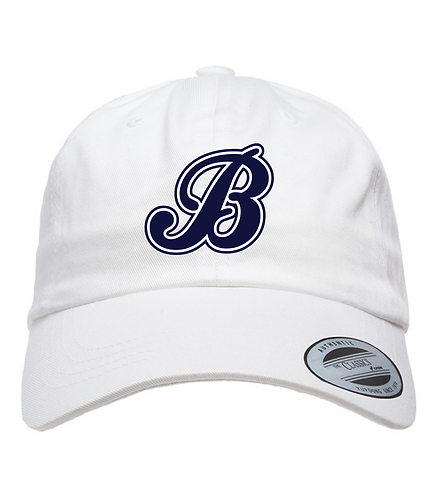 Baycats Yupoong Dad hat White