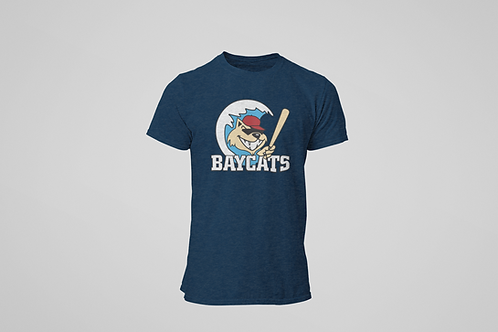 Baycats Vintage Logo T-Shirt Navy