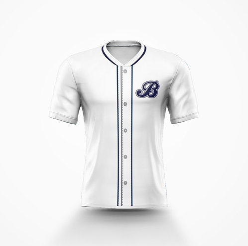 Barrie Baycats Replica Game Jersey White