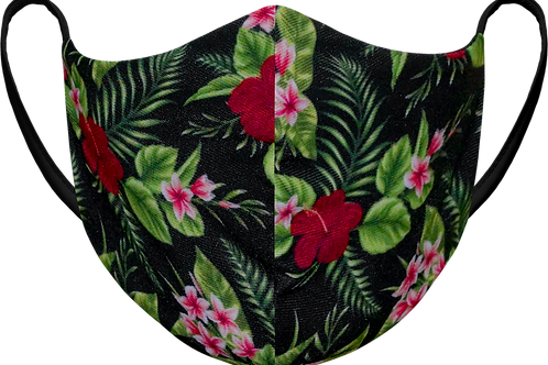 Floral - Sublimated Reusable Face Mask