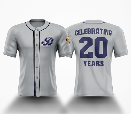Barrie Baycats 20th Anniversary LIMITED EDITION Celebration Jersey