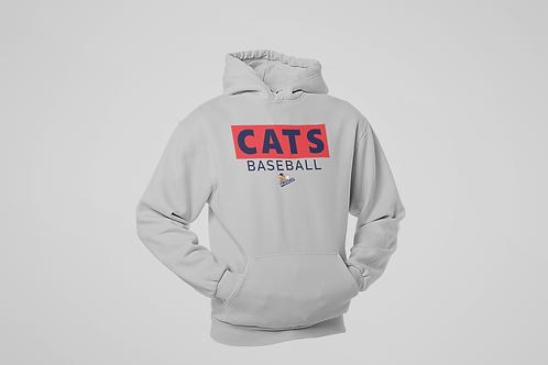 Baycats Club Logo Cotton Hoodie Grey Unisex