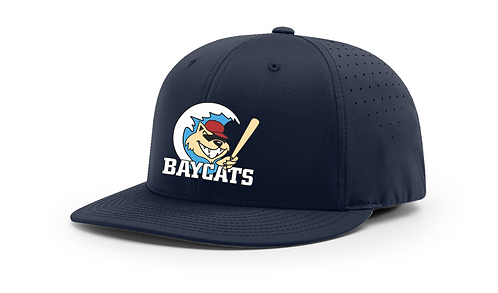 Baycats Richardson PTS30 Lite-R Stretch Fit Hat Navy Vintage Logo