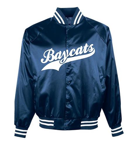 Baycats Vintage Dugout Jacket Script Logo