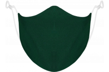 Dark Green Adjustable - Reusable Face Mask