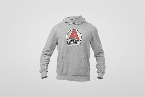 Team Avery Cotton Blend Hoodie Grey