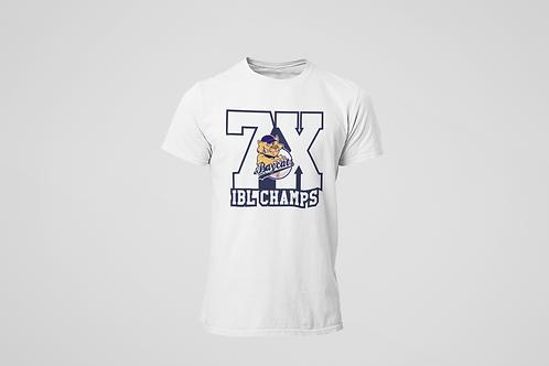 Baycats 7X Champs Cotton T-shirt White