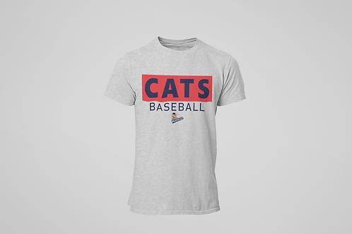 Baycats Club Logo T-Shirt Grey