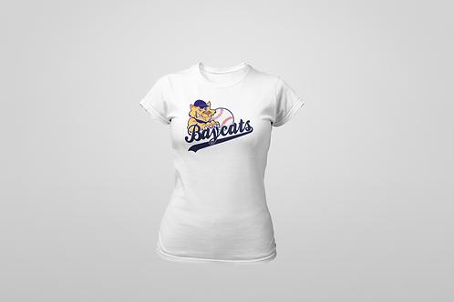 Baycats Women's Crewneck T-Shirt White