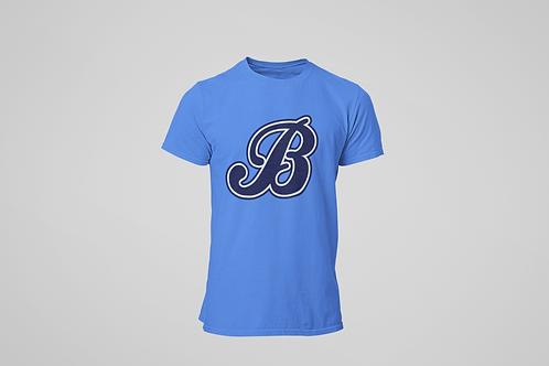 Baycats Jersey Logo T-Shirt Royal Heather