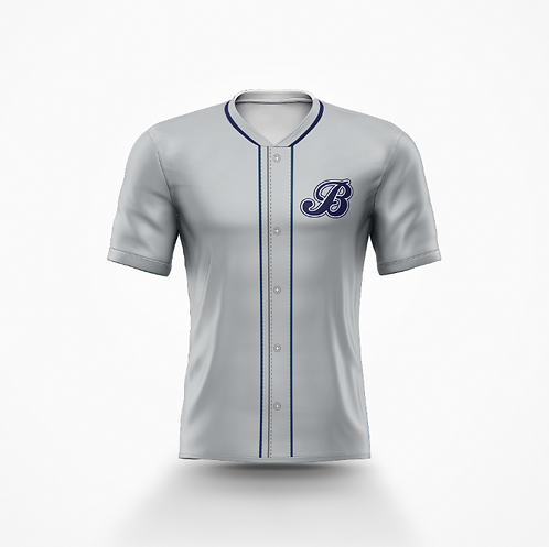 Barrie Baycats Replica Game Jersey Grey