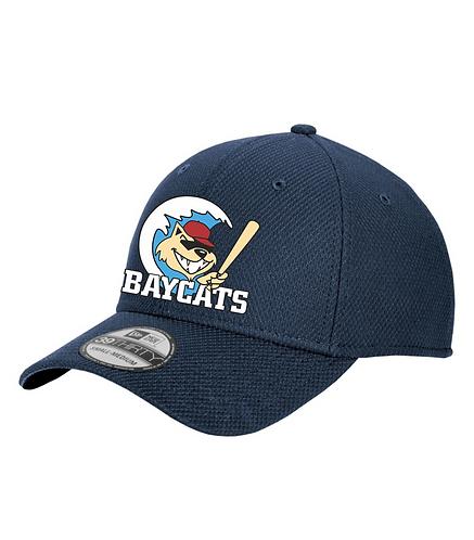 Baycats New Era Diamond Era Vintage Logo Flexfit Hat Navy