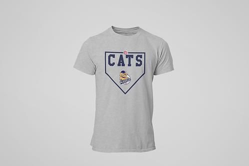 Baycats Diamond T-Shirt Grey Heather