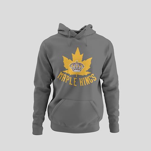 Maple Kings Grey Performance Hoodie
