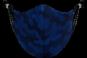 Blue Camo Adjustable - Reusable Face Mask