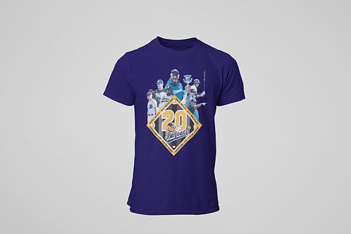 Baycats Vintage 20th Anniversary T-Shirt Navy