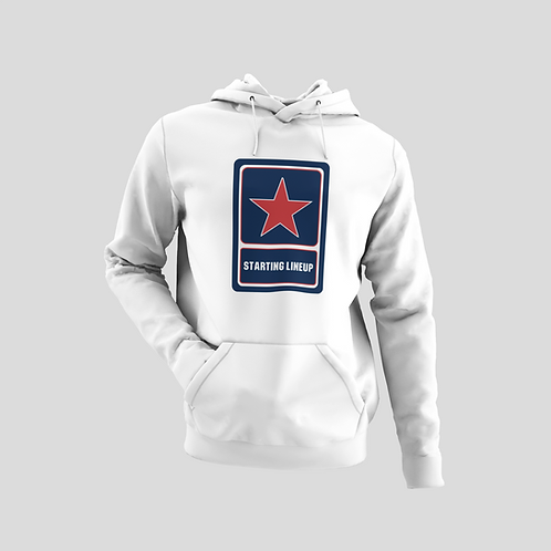 Starting Lineup Air Force Logo Cotton Hoodie