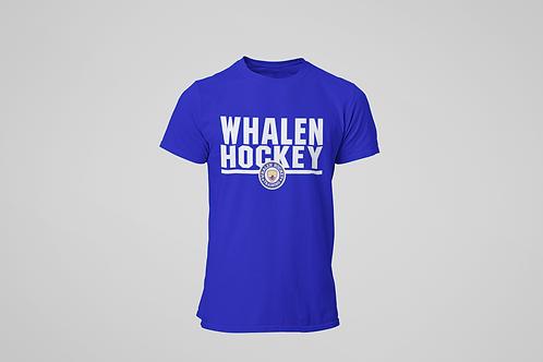 Whalen Blues Blue T-shirt