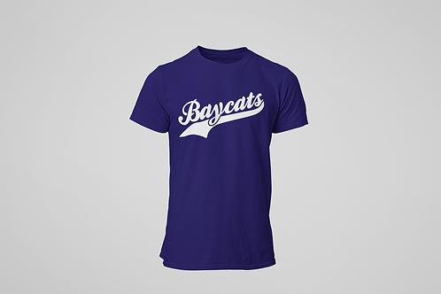 Barrie Baycats Script Logo T-Shirt Navy