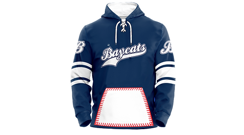 Baycats Sublimated Baseball Hoodie