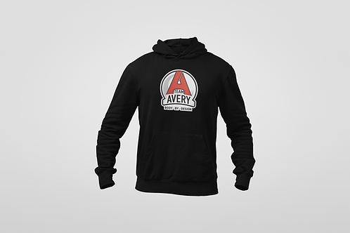 Team Avery Cotton Blend Hoodie Black
