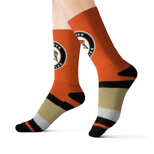 London Turtles Custom Sublimation Socks