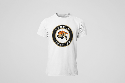 London Turtles White T-Shirt (Secondary Logo)