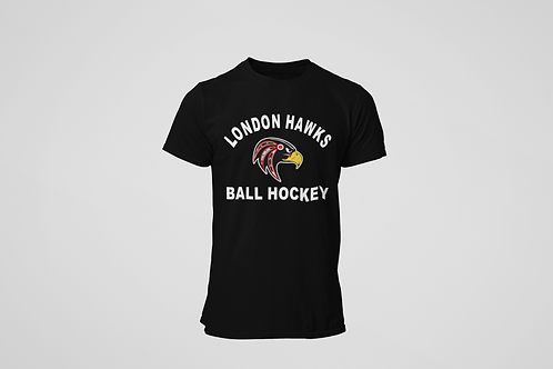 London Hawks Black T-Shirt
