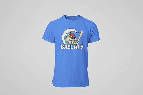 Baycats Vintage Logo T-Shirt Royal Heather