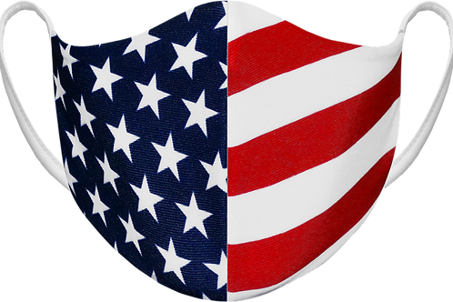 USA - Sublimated Reusable Face Mask