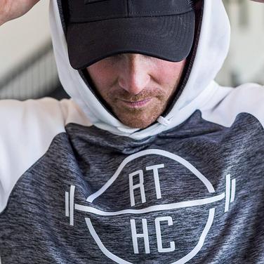 Man wearing a hoodie