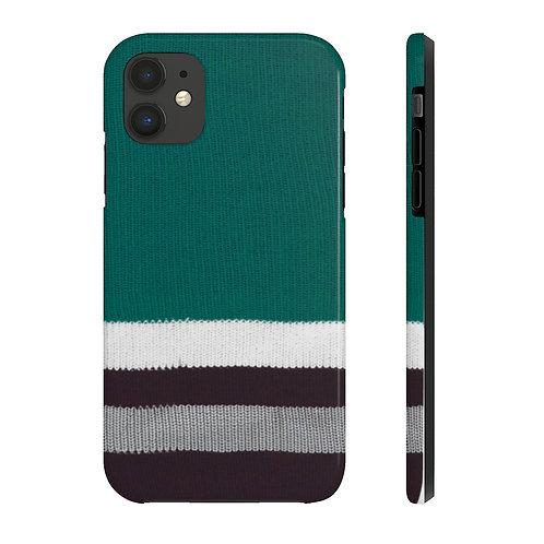 Anaheim Ducks Vintage Team Colour Case Mate Tough Phone Cases