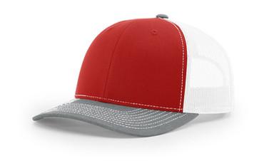 Richardson 112 - Red Grey White