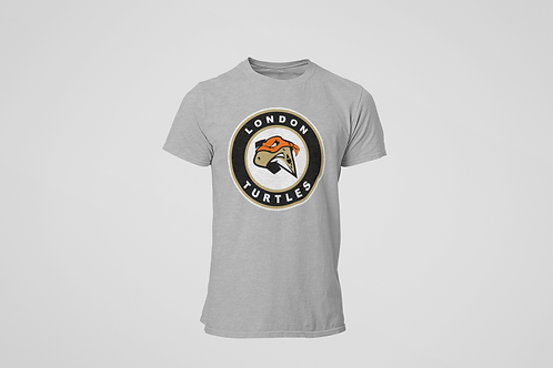 London Turtles Grey T-Shirt (Secondary Logo)