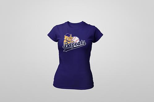 Baycats Women's Crewneck T-Shirt Navy