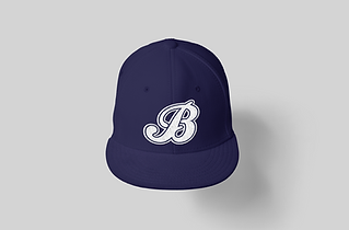 mockup-of-a-snapback-hat-placed-against-