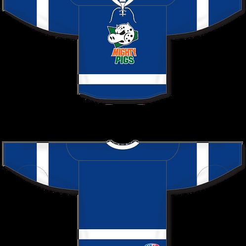 Springfield Mighty Pigs Hockey Jersey