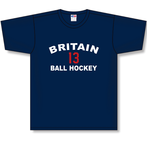 Team GB Player Number Performance T-Shirt