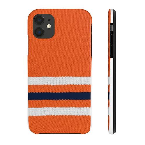 Edmonton Oilers Team Colour Case Mate Tough Phone Cases