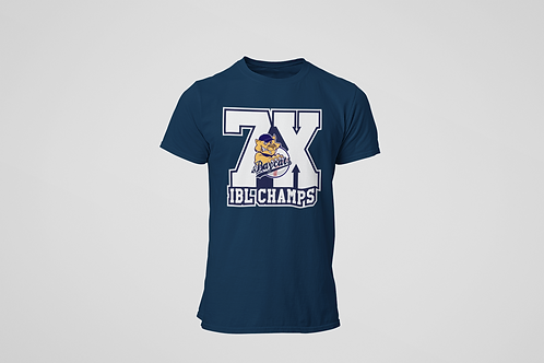 Baycats 7X Champs Cotton T-shirt Navy