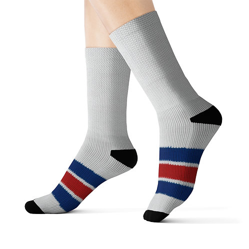 New York Rangers Team Colour Sublimated Socks