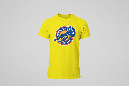 Whalen Blues Yellow T-shirt (Alternate Logo)