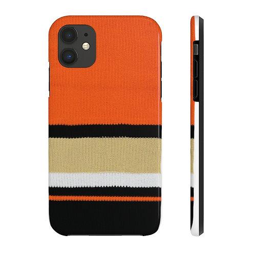 Anaheim Ducks Team Colour Case Mate Tough Phone Cases