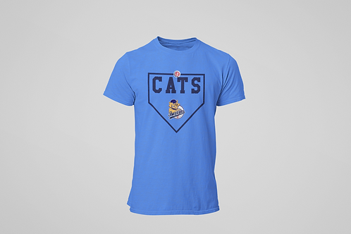 Baycats Diamond T-Shirt Royal Heather
