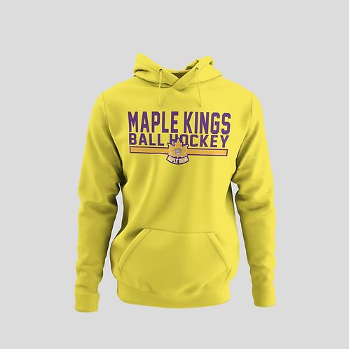 Maple Kings Yellow Performance Hoodie