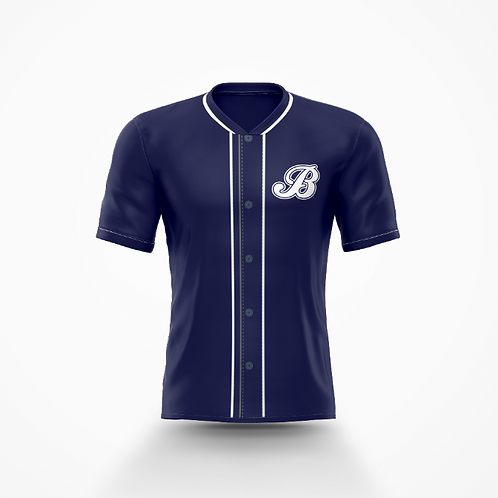 Barrie Baycats Replica Game Jersey Navy