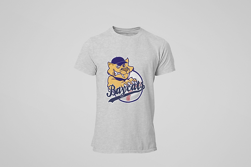 Baycats Logo T-Shirt Grey