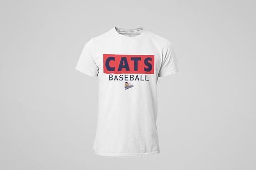Baycats Club Logo T-Shirt White