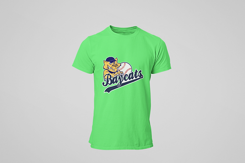 Barrie Baycats Youth Classic Logo T-Shirt Green